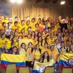 Song, dance and prayer in the CLM meeting during WYD
