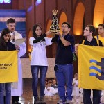 CLM members ended WYD with a visit to Aparecida