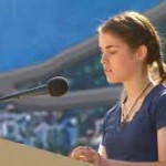 The experience of the young woman who read in the Final Mass of World Youth Day