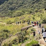"""Parents and Children hike,"" dialogue and encounter in Petropolis"