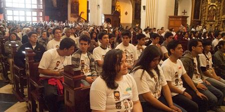 Sodalit Family Members in St. Peter's Church