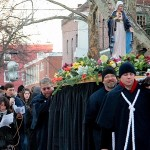 Our Lady of the Reconciliation traveled the streets of Philadelphia for the first time