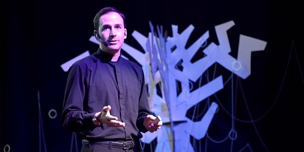 Fr Alberto Hadad gave a talk at TEDx in Cali